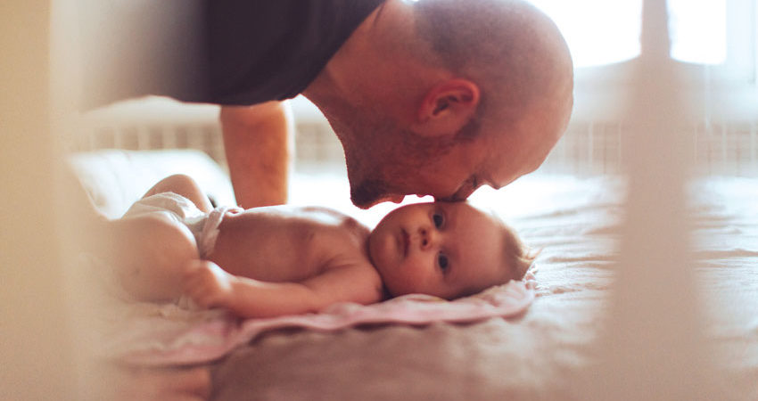 activite bebe lien papa