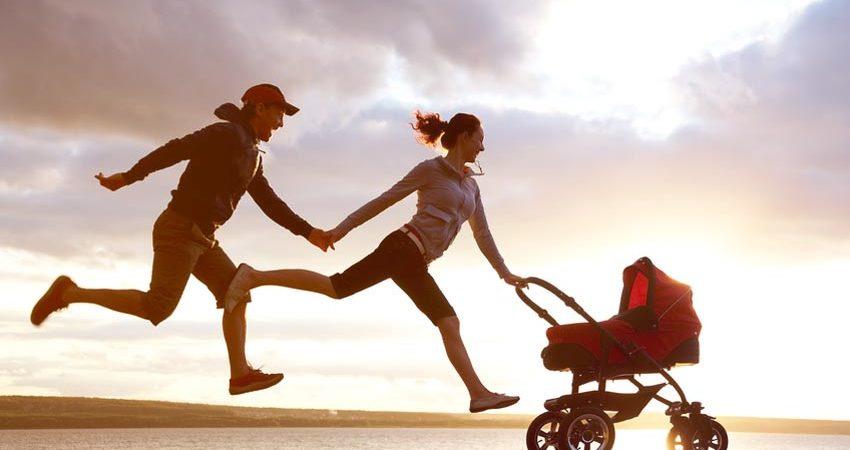 course à pied accouchement
