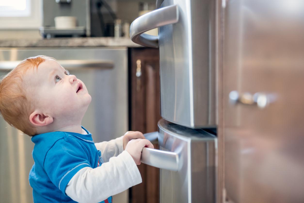 sécurité cuisine bébé